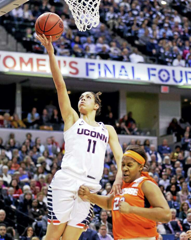 UConn's Kia Nurse is recovering from sports hernia surgery according to a report. Photo: The Associated Press File Photo  / AP