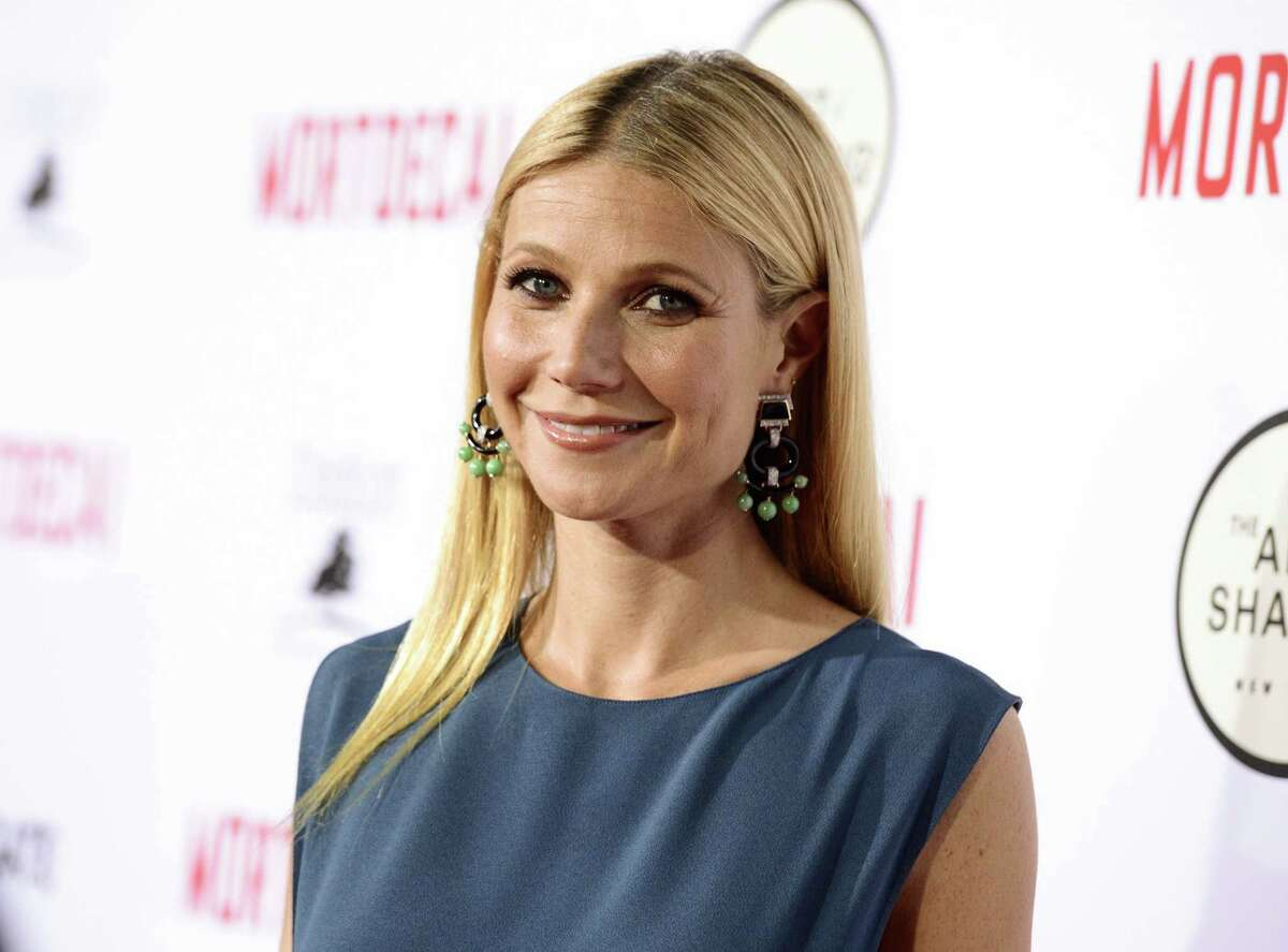 """In this Jan. 21, 2015, file photo, actress Gwyneth Paltrow attends the premiere of the feature film """"Mortdecai"""" in Los Angeles. The Entertainment Industry Foundation said Tuesday, Aug. 18, that ABC, CBS, Fox and NBC will simultaneously air a one-hour fundraising special for education featuring Paltrow, Stephen Colbert, Scarlett Johansson, Kristen Bell, and Matthew McConaughey on Sept. 11. The special will have sketches and musical performances."""