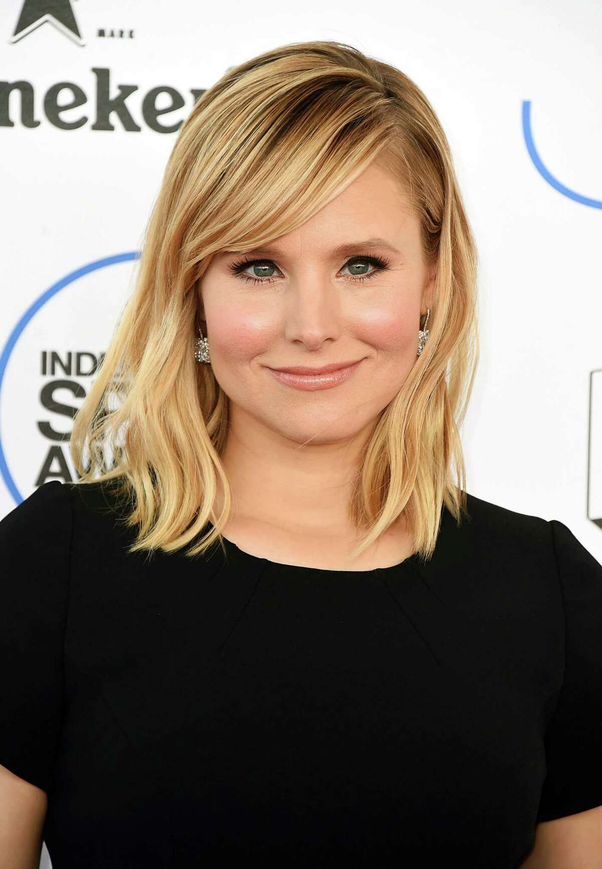In this Feb. 21, 2015, file photo, Kristen Bell arrives at the 30th Film Independent Spirit Awards in Santa Monica, Calif. The Entertainment Industry Foundation said Tuesday, Aug. 18, that ABC, CBS, Fox and NBC will simultaneously air a one-hour fundraising special for education featuring Bell, Stephen Colbert, Scarlett Johansson, Matthew McConaughey and Gwyneth Paltrow on Sept. 11. The special will have sketches and musical performances.