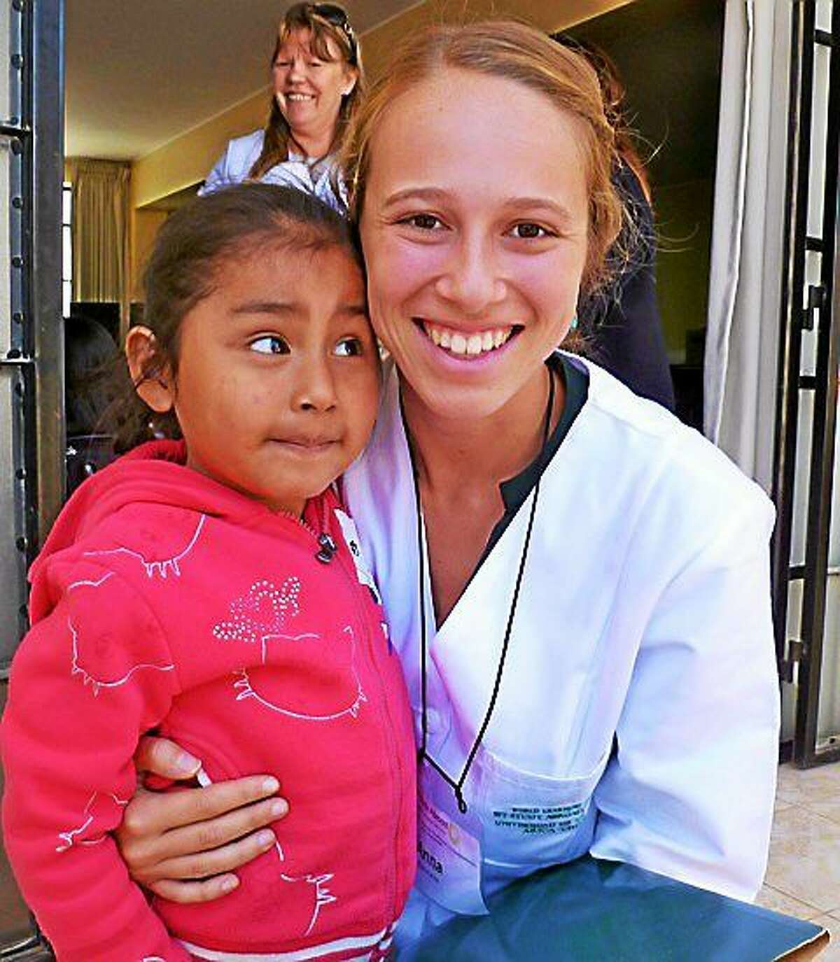 CONTRIBUTED PHOTO Anna Gunod, a graduate of Litchfield High School, is raising funds to pay for an internship that will take her to a rural village in Uganda, and allow her to share her knowledge of health care practices with the residents.