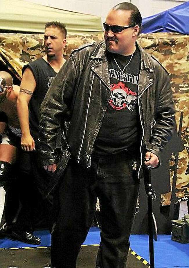 Mike Masi and Joseph Grieco of Descension Pro Wrestling. The company's debut show will be held Saturday, Aug. 22, at the Knights of Columbus. Photo: Contributed Photo