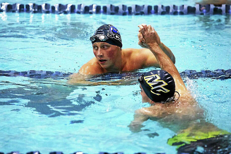 Torrington graduate Ray Cswerko, who now swims at Southern Connecticut State University, was a stand out at last week's Eastern College Athletic Conference (ECAC) Winter Championships. Photo: File Photo Courtesy Of Southern Connecticut State University