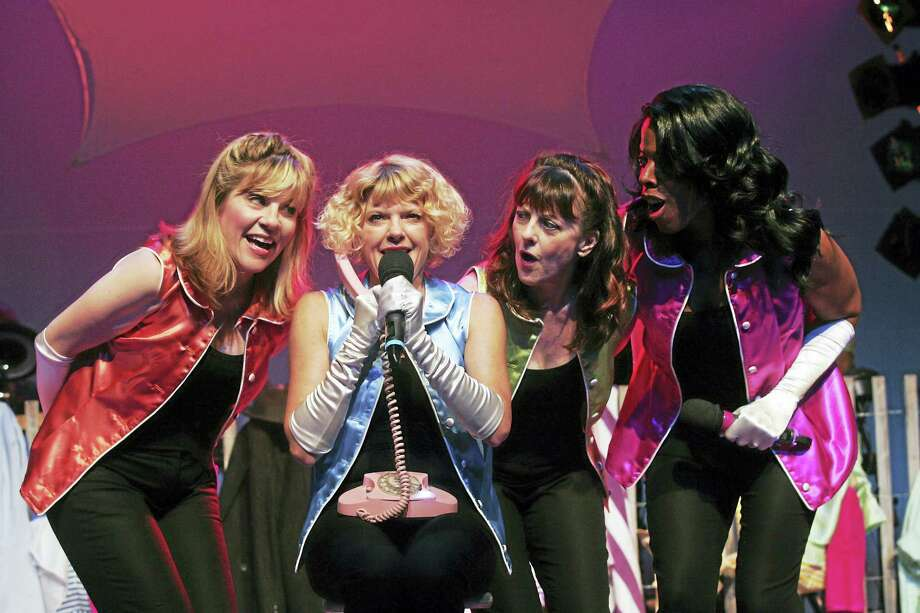 """The Bikinis"" features 30 familiar songs. Photo: Goodspeed Musicals Photo Courtesy Of Long Wharf  / ?2012 Diane Sobolewski"