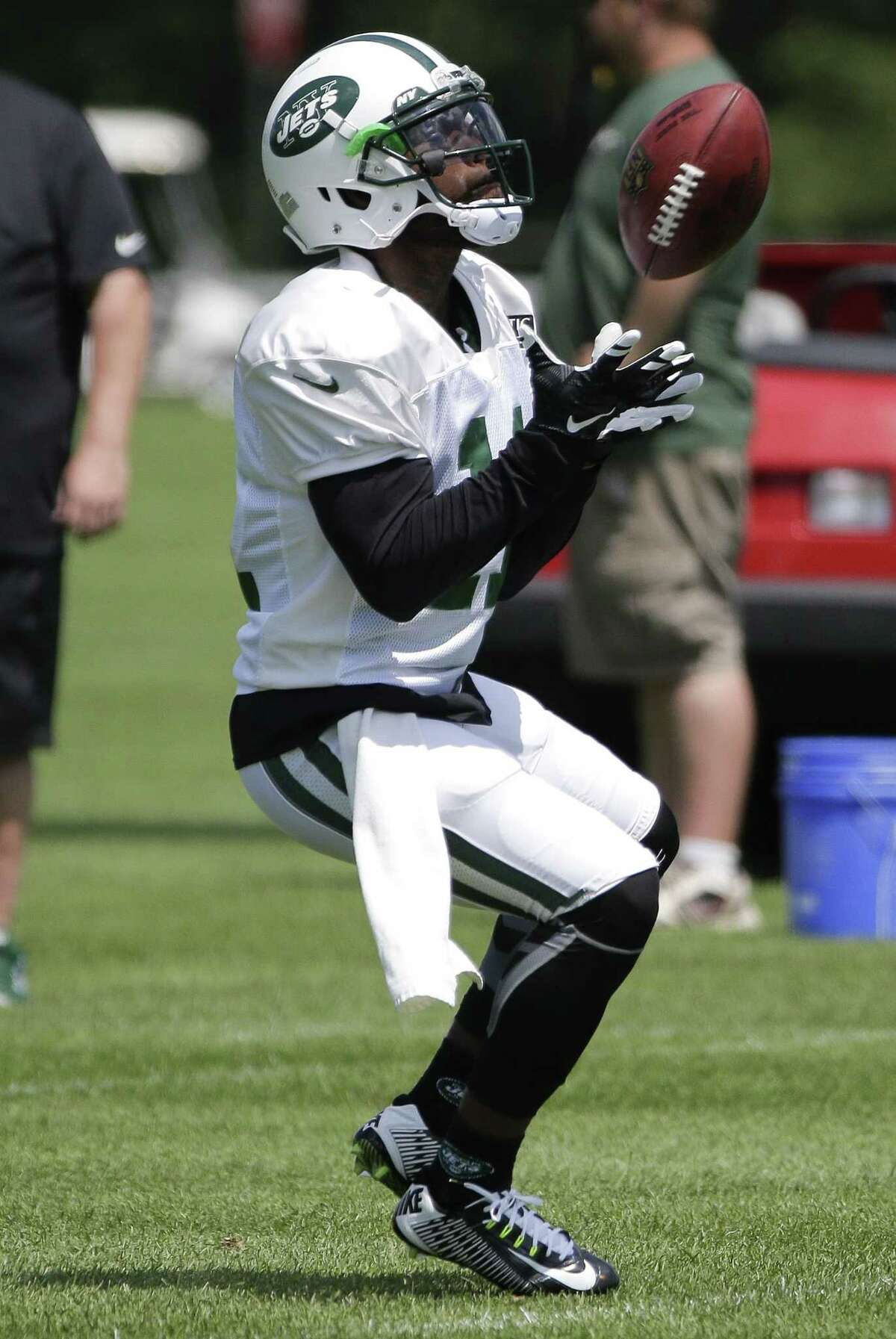 Jeremy Kerley is used to having to prove himself. Despite establishing himself as a sure-handed target for the New York Jets, he's in camp this summer trying to win the job as the No. 3 receiver.