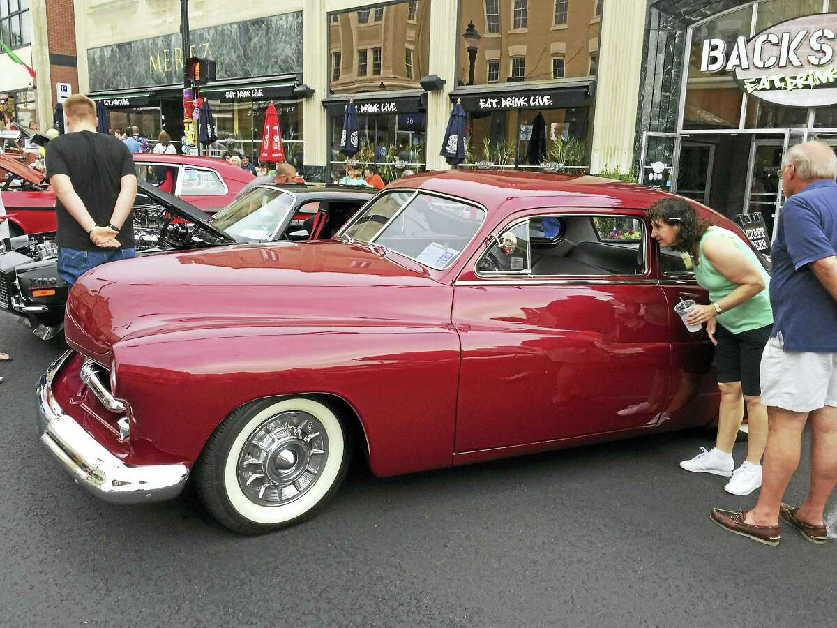 Ben Lambert - The Register CitizenThe Torringford Volunteer Fire Department held the 19th annual Chief's Choice Car Show Friday evening in Torrington.