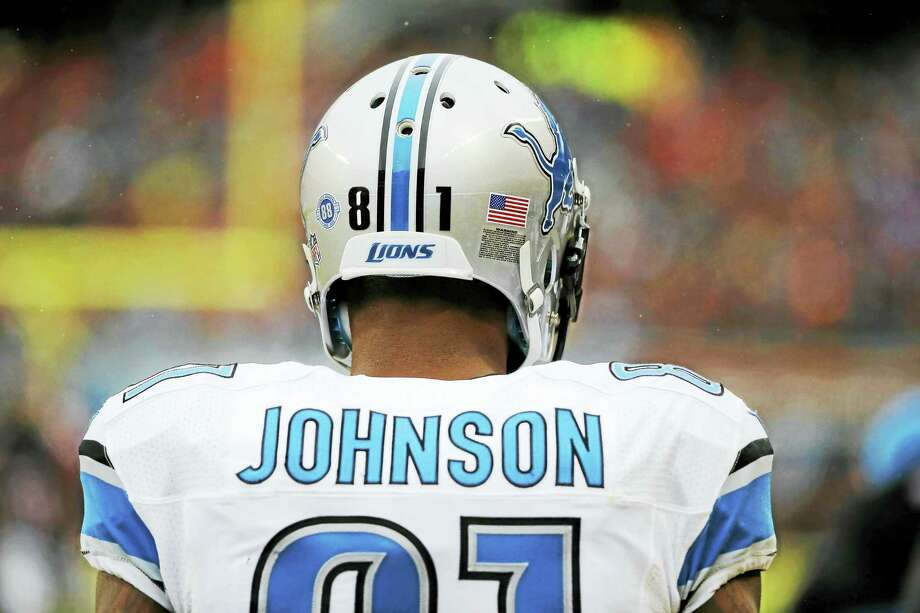 "Former Lions wide receiver Calvin Johnson says NFL players could get painkillers like they were ""candy"" during the first half of his career with the Detroit Lions. Photo: The Associated Press File Photo  / AP"