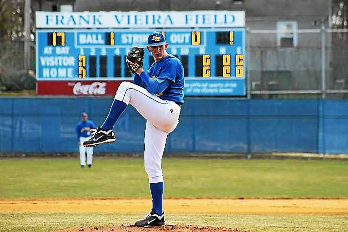 New Haven grad Alex Smith recently notched 11 saves in 11 opportunities and struck out 23 over 20 innings in a six-week stint with the Tampa Yankees.