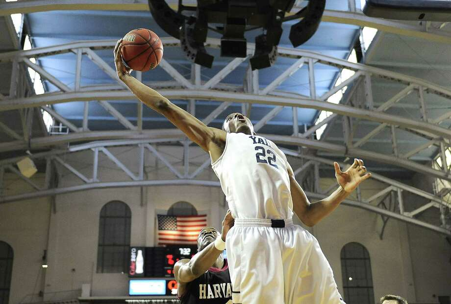 Justin Sears and Yale will hit the road to take on Duke, SMU and USC next season, and the Bulldogs will host 20-game winners Albany, Vermont and NJIT. Photo: Michael Perez — The Associated Press File Photo  / FR168006 AP