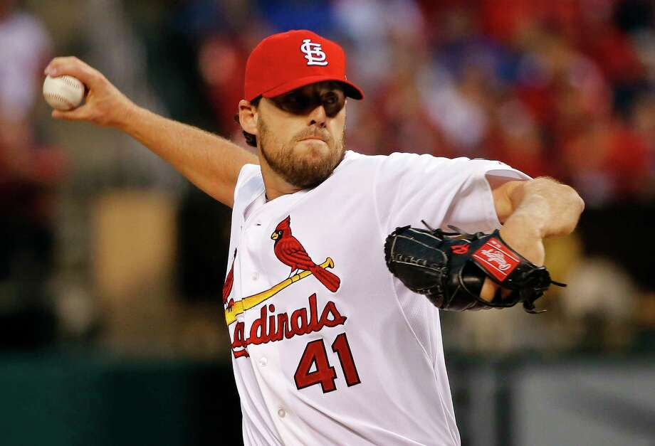 The Chicago Cubs and John Lackey agreed Tuesday on a two-year contract through the 2017 season. Photo: Charles Rex Arbogast — The Associated Press File Photo  / AP
