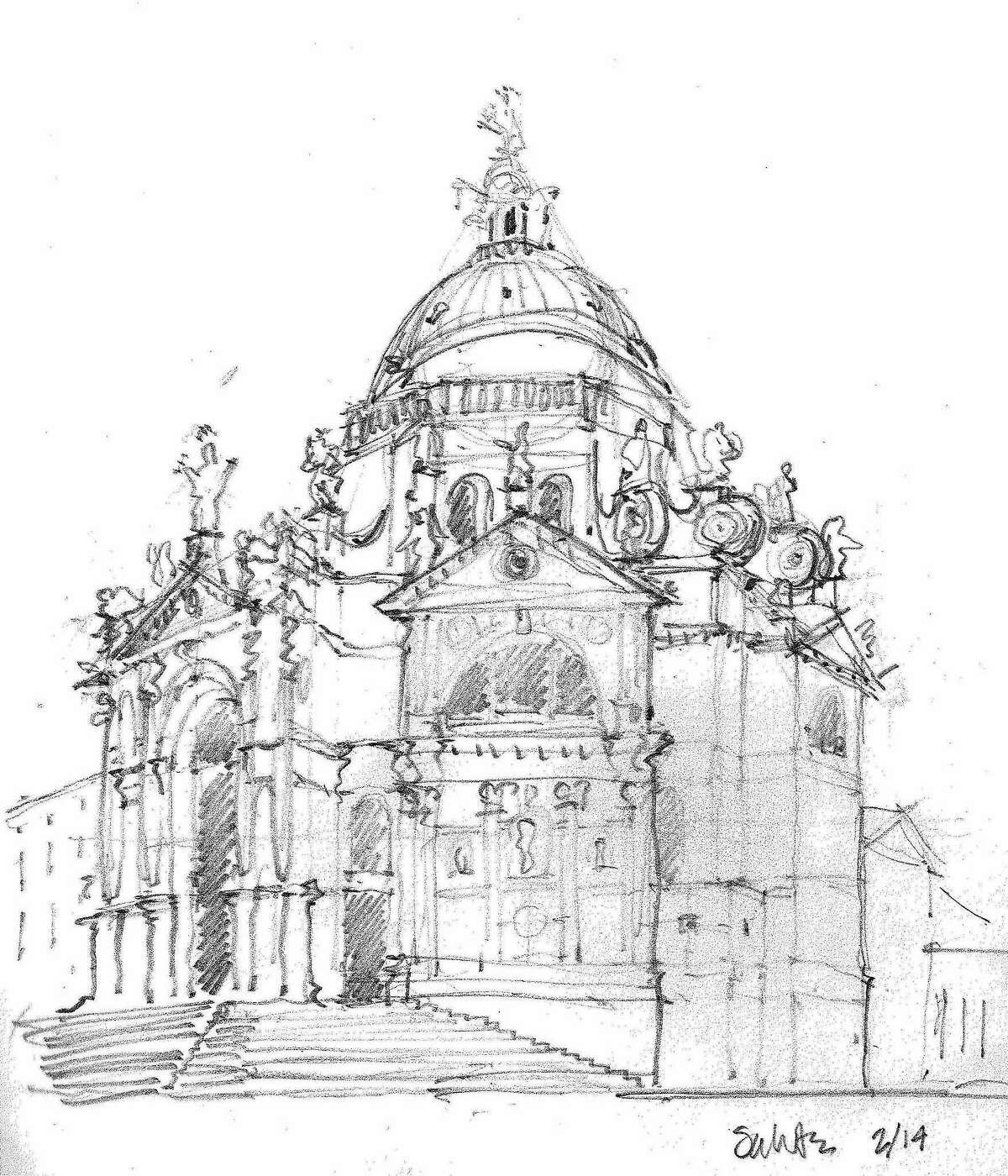 Santa Maria della Salute by Kent McCoy.