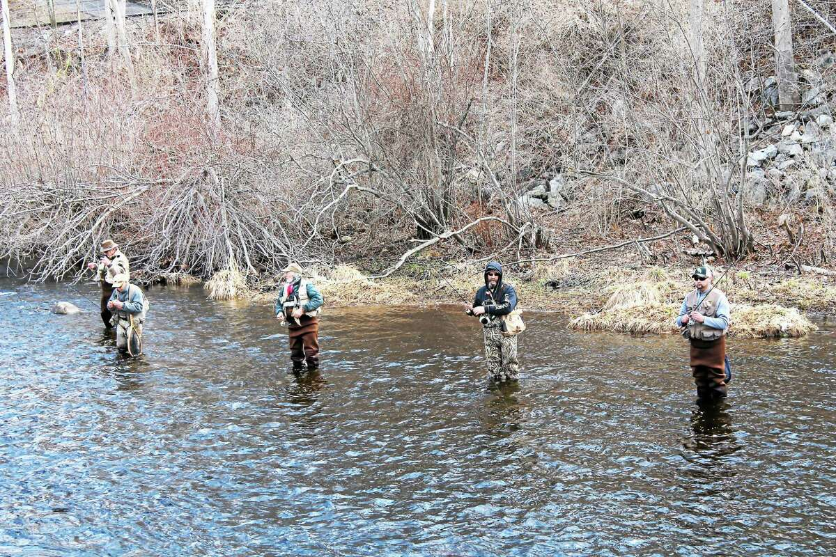 The annual Riverton Fishing Derby on Saturday drew a crowd and kicked off fishing season in the Northwest Corner of the state.