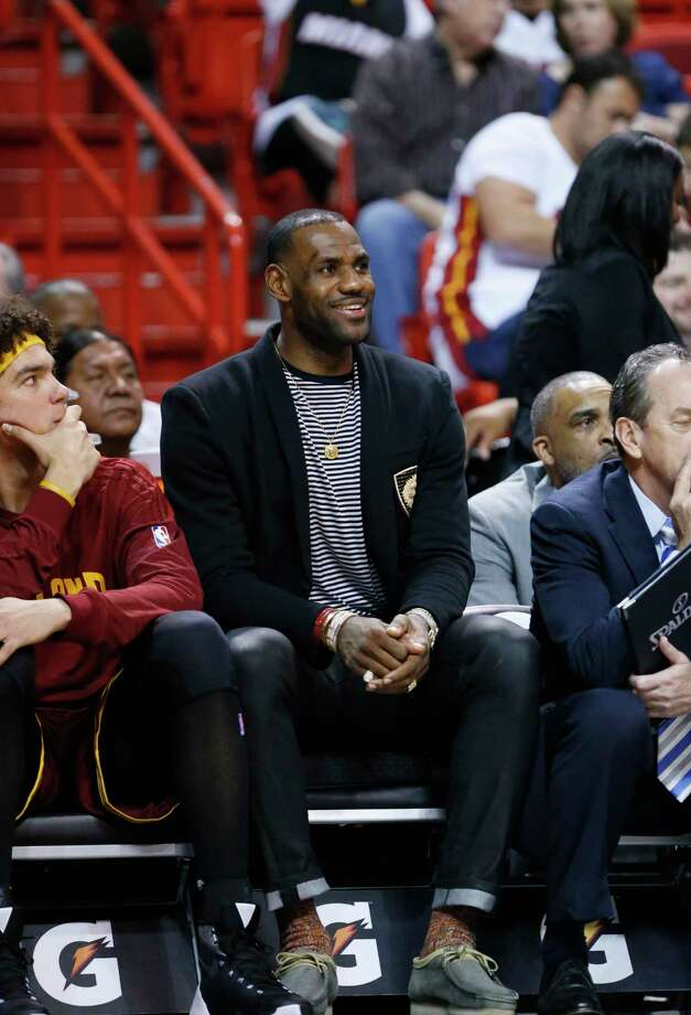 Cavaliers forward LeBron James has signed a lifetime contract with Nike. Photo: The Associated Press File Photo  / AP