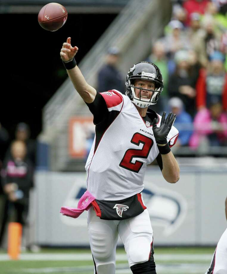 Dan Nowak likes the Falcons and Atlanta Falcons quarterback Matt Ryan is a big reason why. He has thrown for 300-plus yards in five games and he has 23 TD passes. Photo: The Associated Press  / Copyright 2016 The Associated Press. All rights reserved.