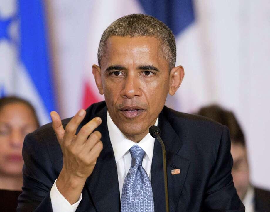 President Barack Obama Photo: Associated Press  / AP