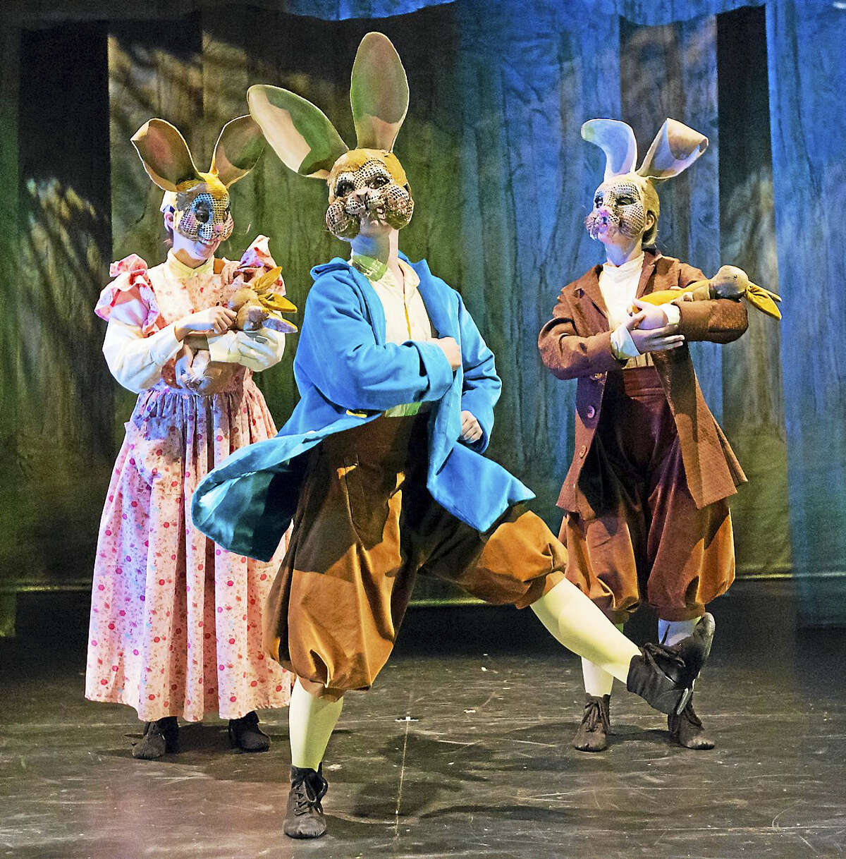 """""""Peter Rabbit Tales"""" will play the Shubert Saturday afternoon."""