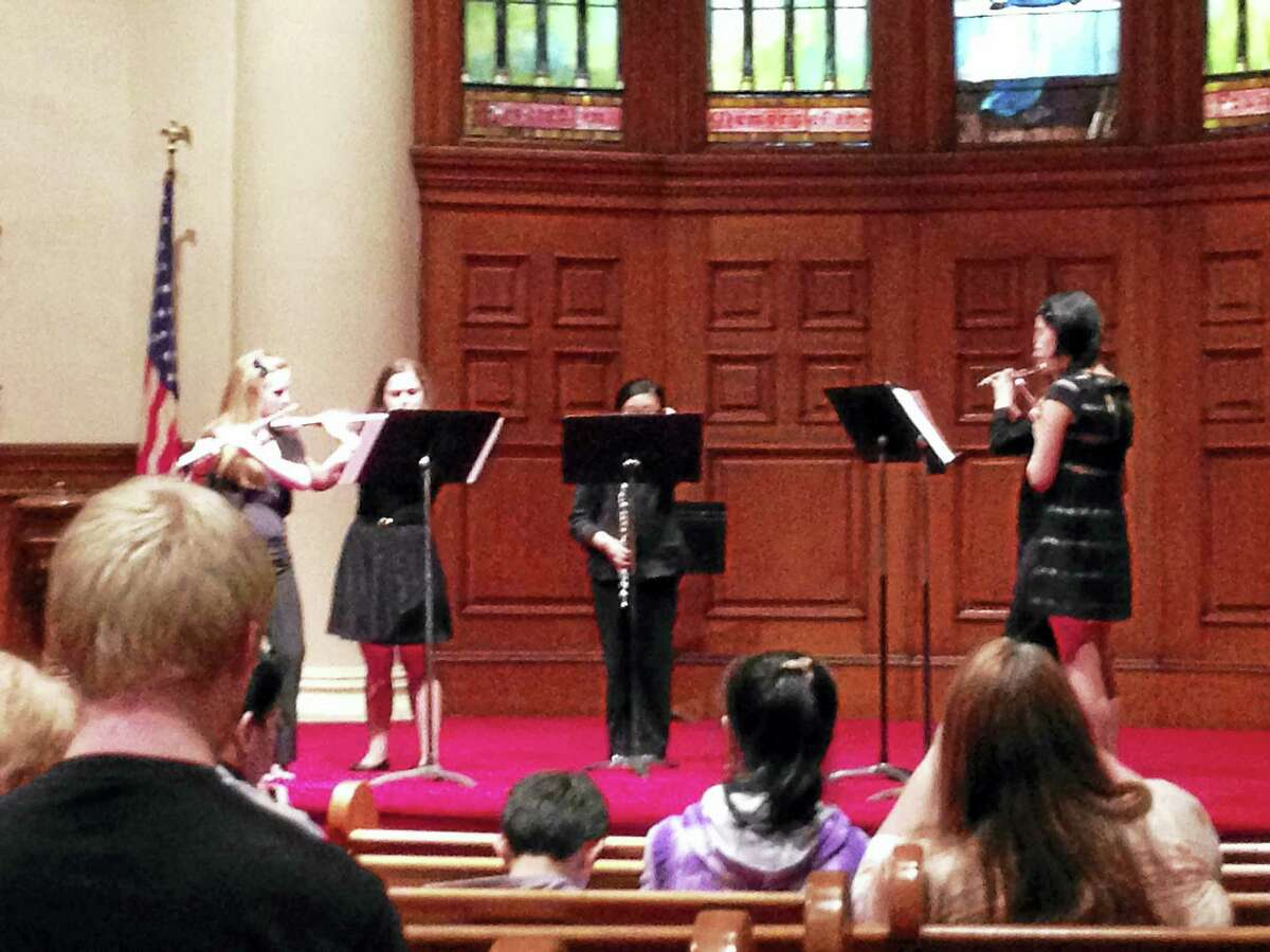 Contributed photos- Second Congregational Church, Winsted Performers of all ages will play at this weekend's Harmony for Hunger benefit concert at the Second Congregational Church of Winsted.