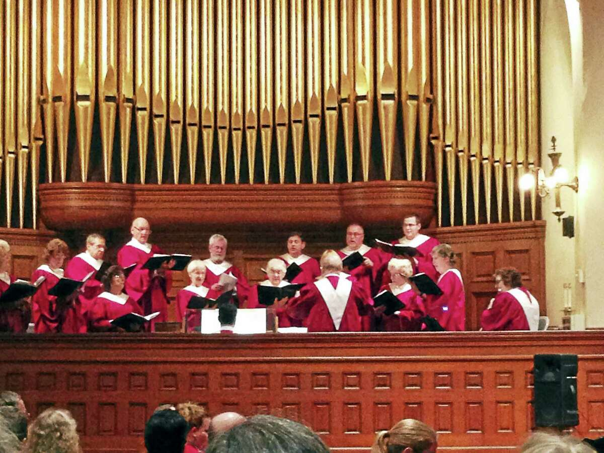Contributed photos- Second Congregational Church, Winsted The Second Congregational Church of Winsted's choir is one of the featured groups to entertain guests at this weekend's Harmony for Hunger concert.