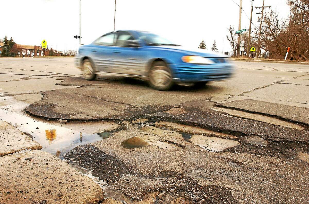 Register Citizen file photo A survey of Winsted's roads indicates a high percentage are in fair to poor condition.