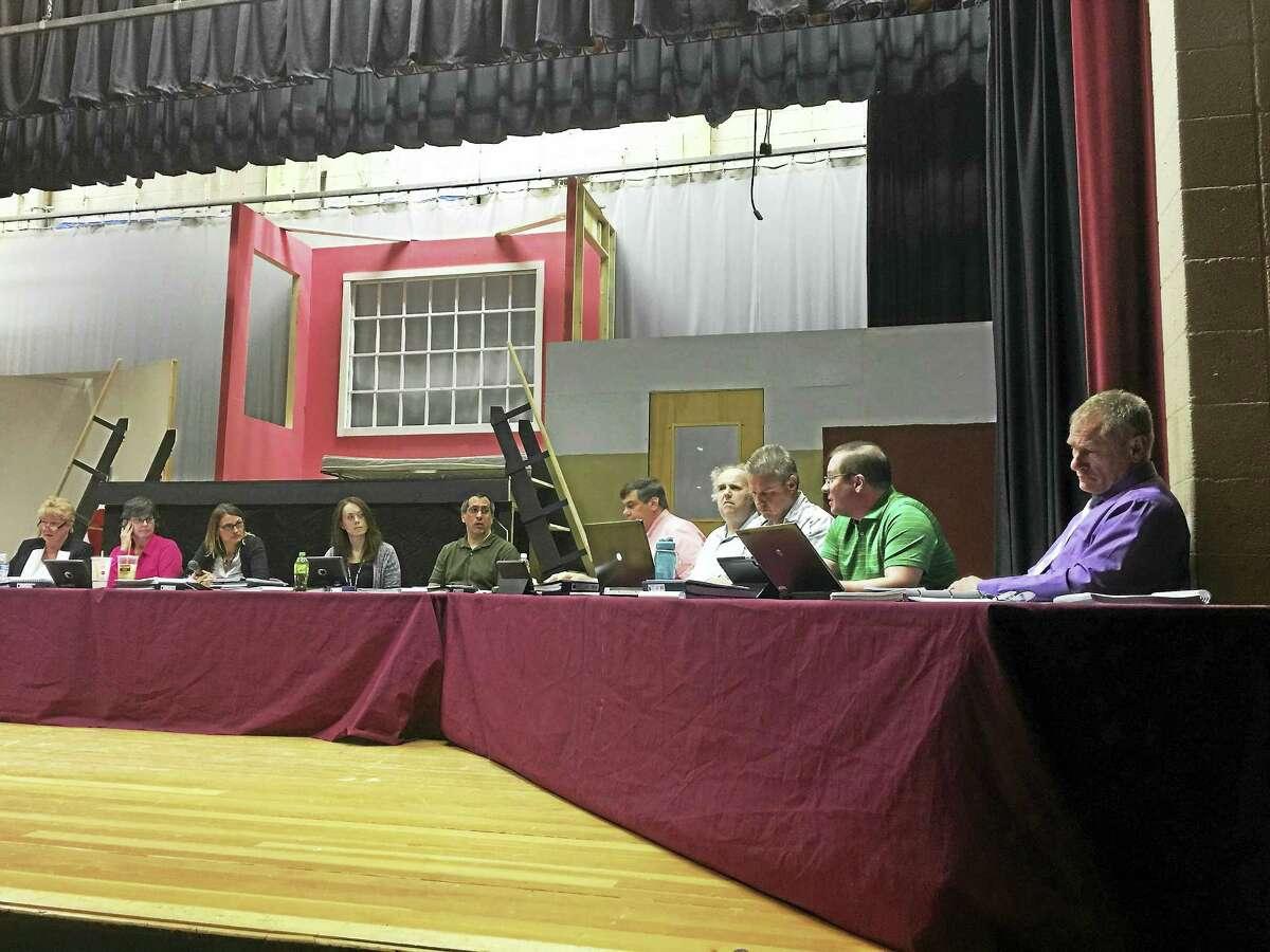 The Board of Education discussed whether board member Daniel Thibault accessed school video cameras remotely Tuesday evening.
