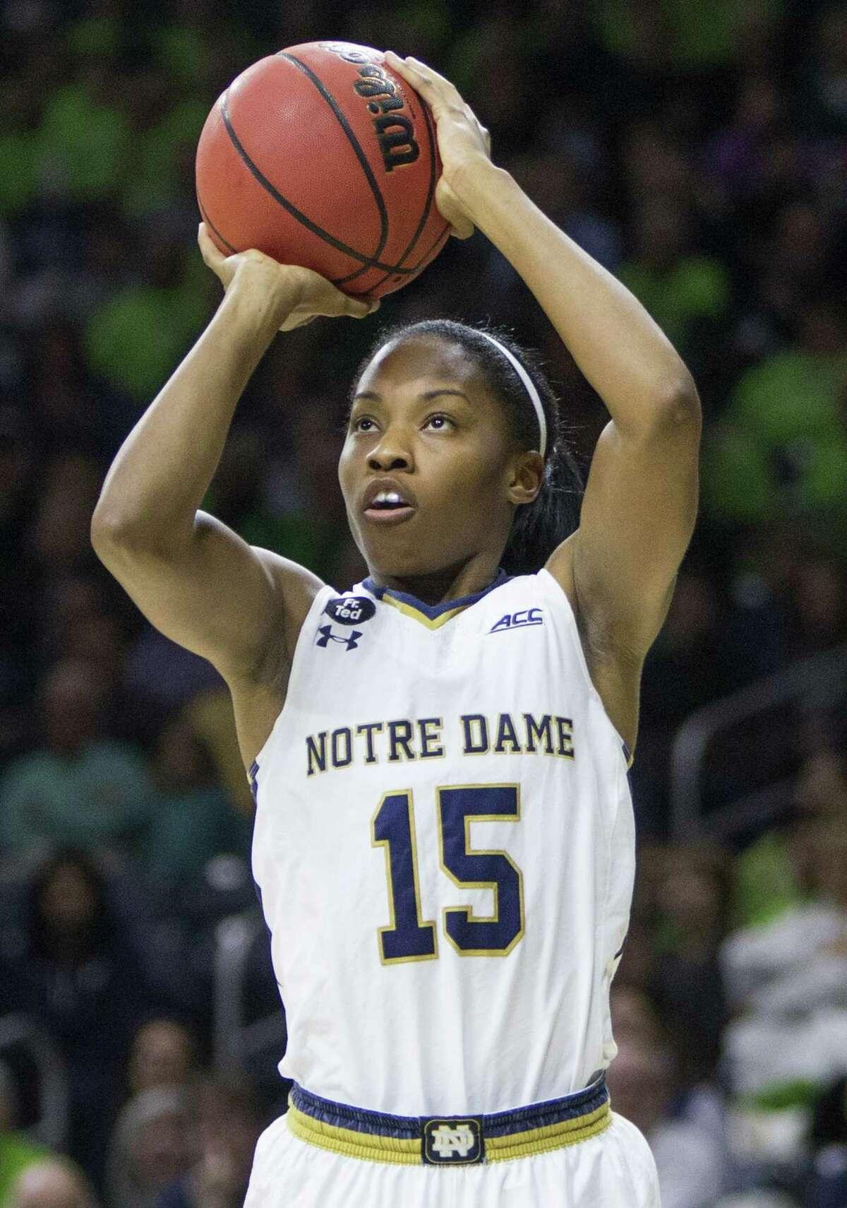 Notre Dame's Lindsay Allen.