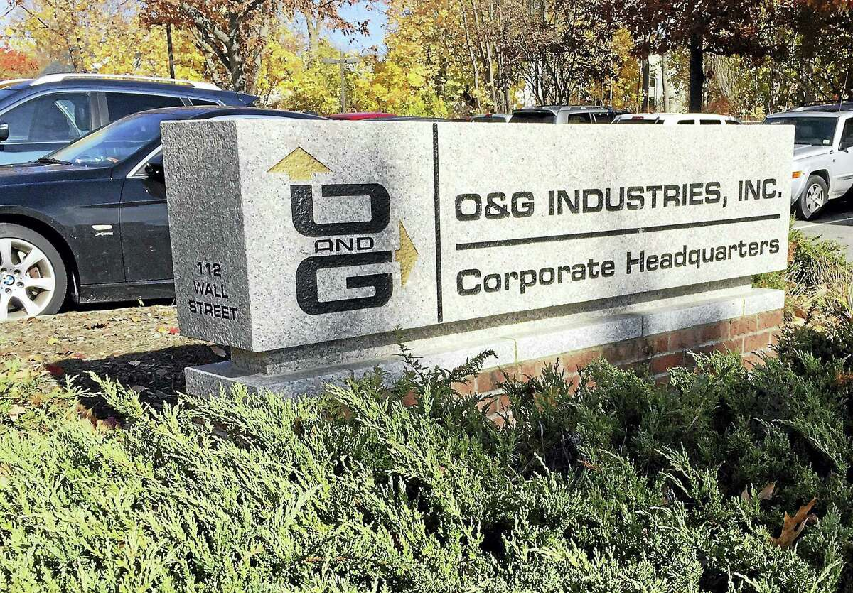 One person was taken to the hospital Thursday morning after falling onto a roof at O&G Industries, 112 Wall St. in Torrington.