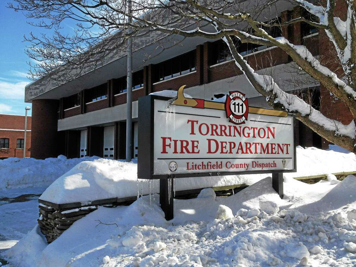 The Torrington Fire Department headquarters on Water Street, which houses Litchfield County Dispatch.
