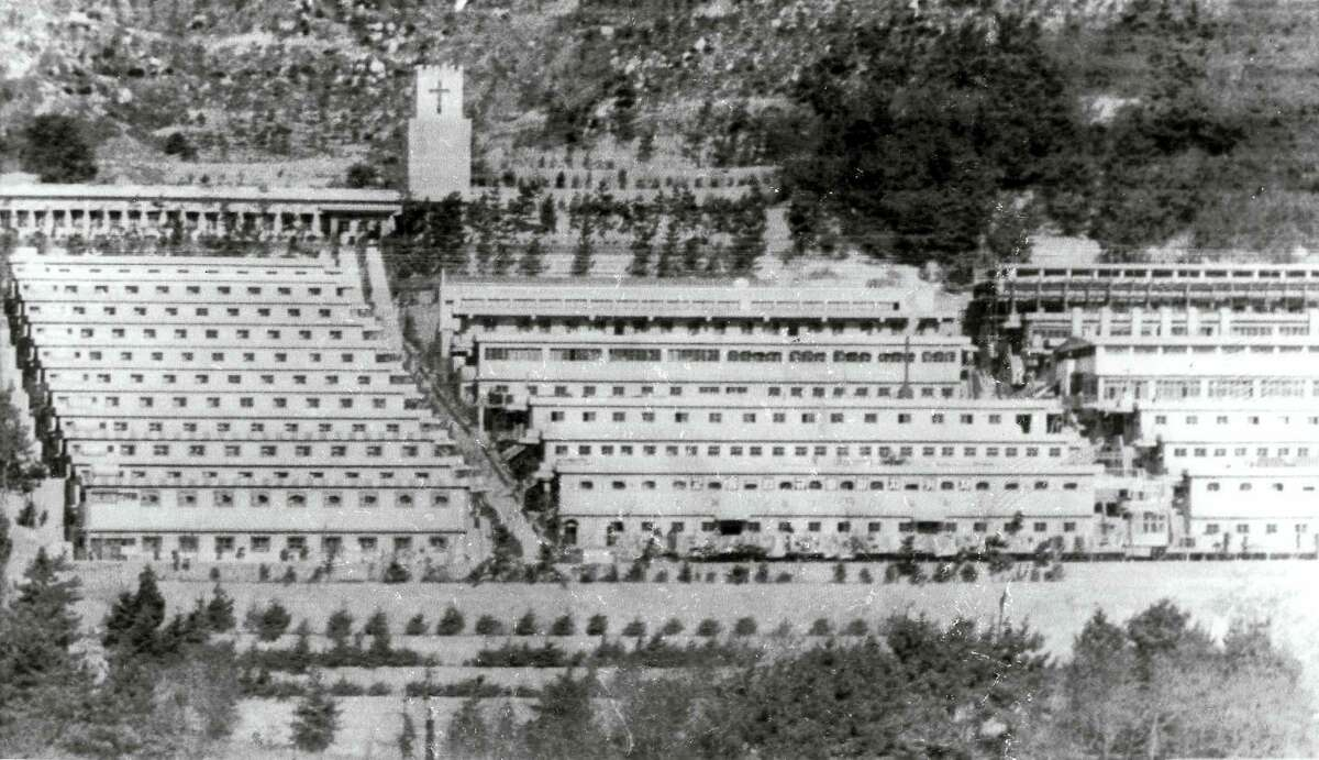 This undated photo shows the Brothers Home compound in Busan, South Korea. An Associated Press investigation found that rapes and killings of children and the disabled three decades ago at a South Korean institution for so-called vagrants, the Brothers Home, were much more vicious and widespread than previously realized.