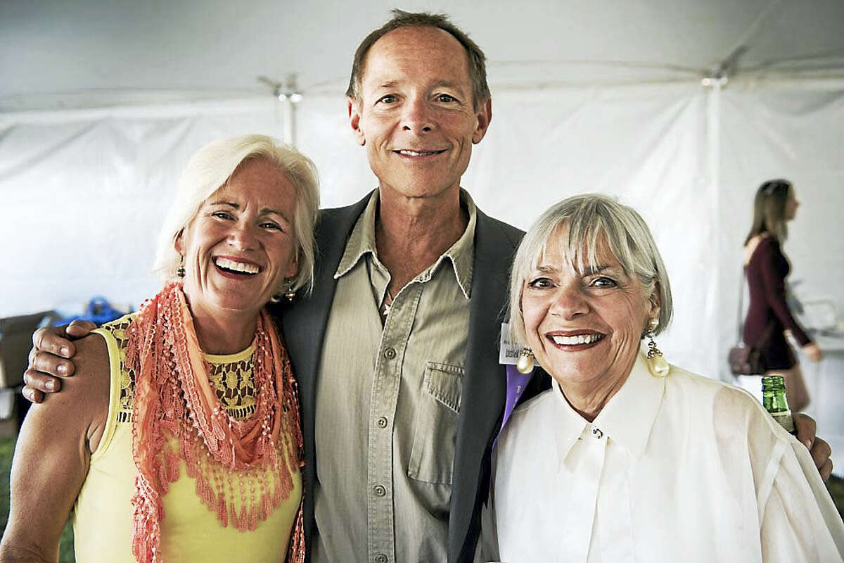 Photo by Steve SussmanJeanne and Ron Miterko and Founder Vita Muir at the 2015 fundraiser gala.
