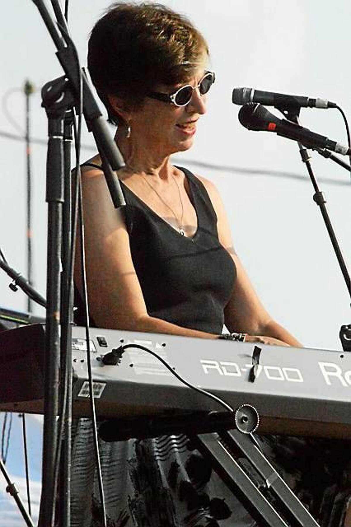 Contributed photo Sunday, Marcia Ball and her boogie-woogie piano hit the stage at FTC StageOne in Fairfield.
