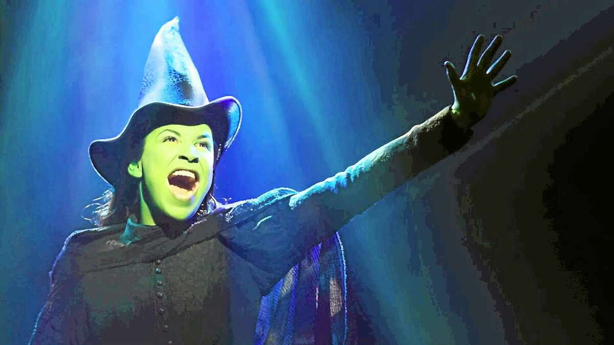 """Contributed photo Lindsey Mendez as Elphaba in """"Wicked."""""""