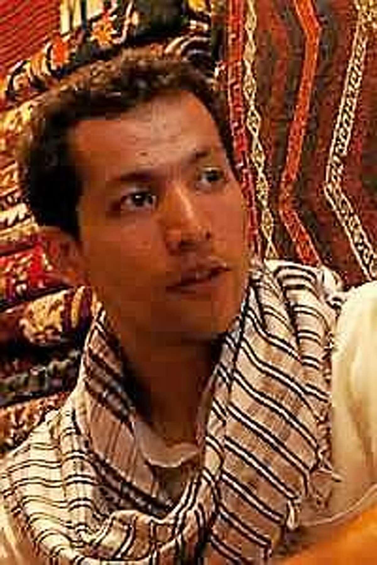 Author Qais Akbar Omar.