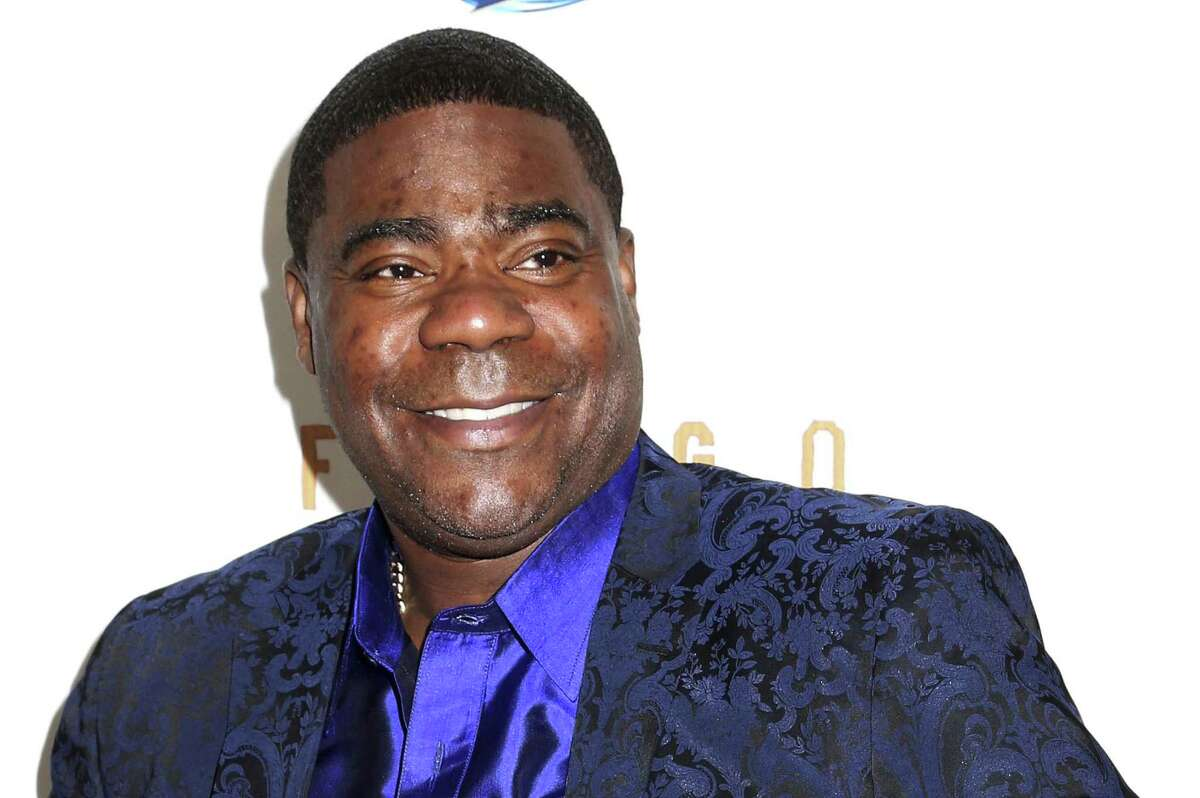 """In this April 9, 2014, file photo, actor Tracy Morgan attends the FX Networks Upfront premiere screening of """"Fargo"""" at the SVA Theater in New York. The National Transportation Safety Board is meeting Aug. 11, 2015, to determine the cause of an accident a year ago that severely injured Morgan and killed another comedian when a truck smashed into their limousine during a traffic backup on the New Jersey Turnpike."""