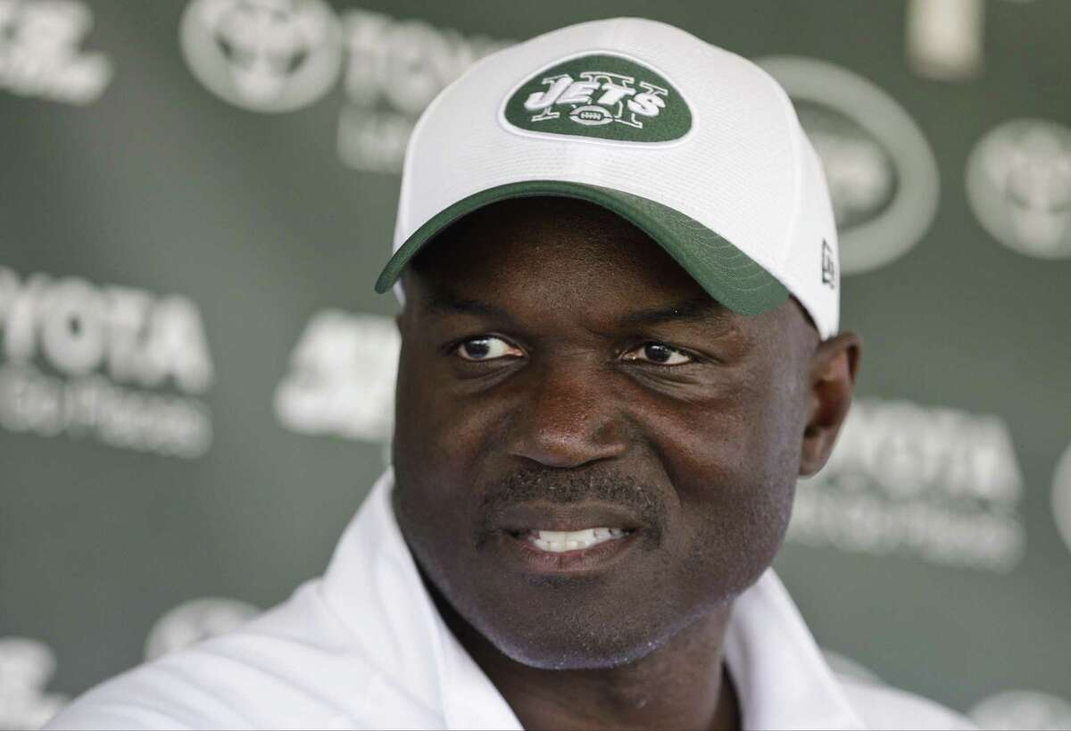 New York Jets head coach Todd Bowles responds to questions during a news conference last week in Florham Park, N.J.
