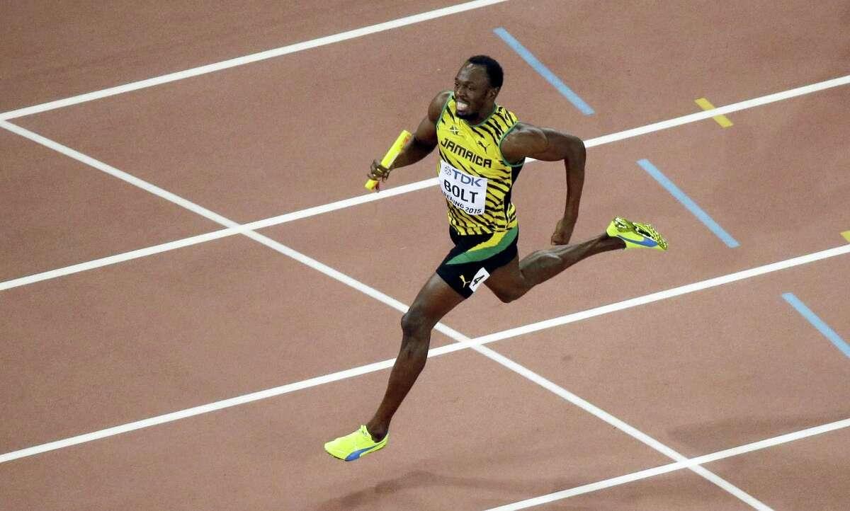 Jamaica's Usain Bolt.