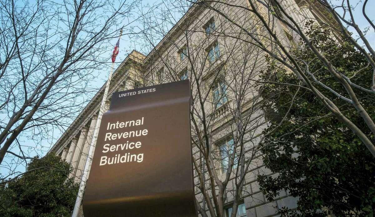 Internal Revenue Service (IRS) headquarters building in Washington.