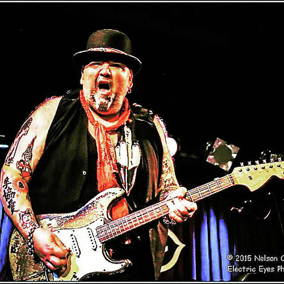 Electric Eyes PhotographyPopa Chubby stops at Black-Eyed Sally's this weekend during his concert tour.