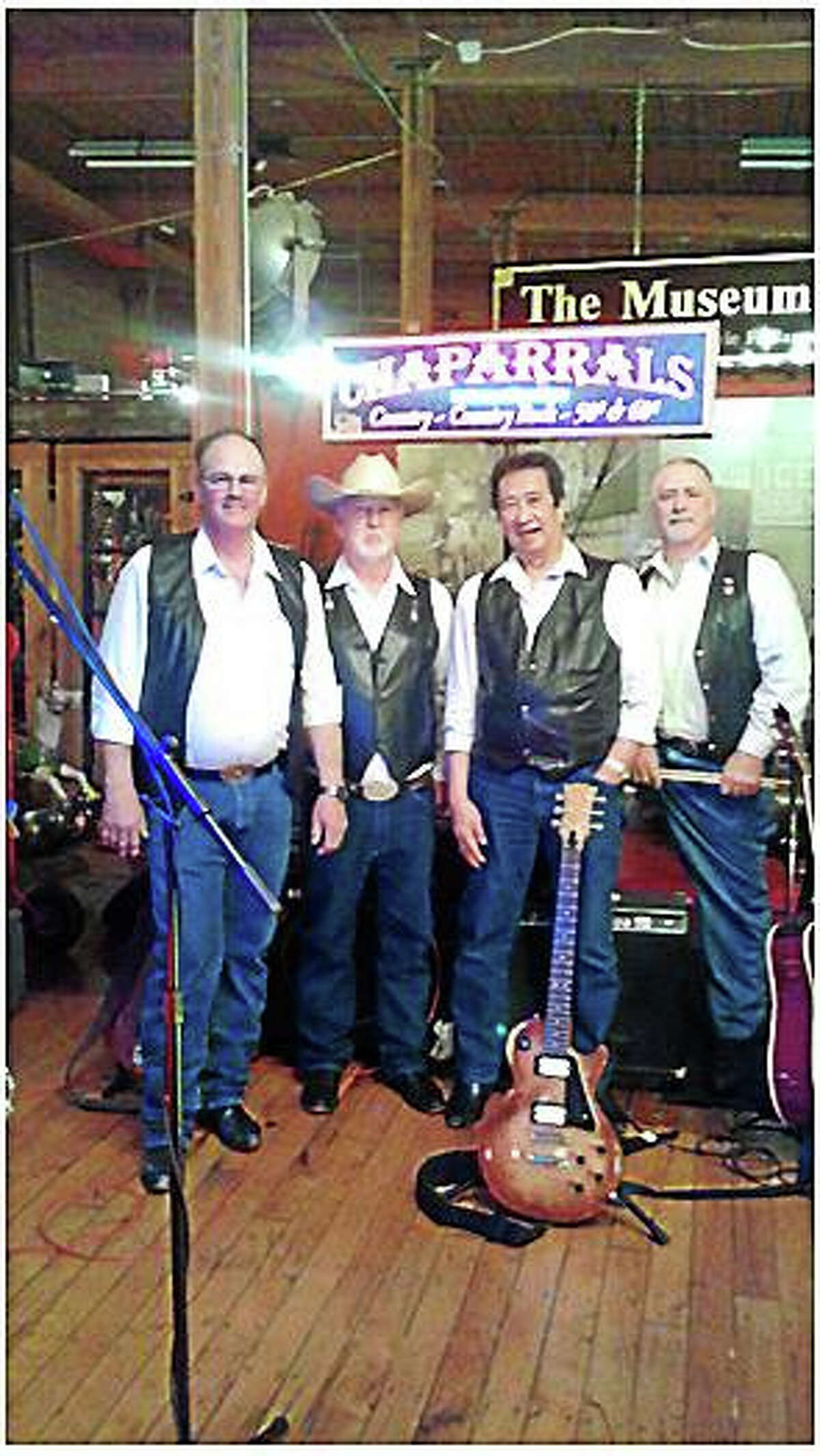 Contributed photo The Chaparrals will play a benefit concert Dec. 12 at the New England Carousel Museum to benefit the Burlington Congregational Church's efforts to purchase a new organ.