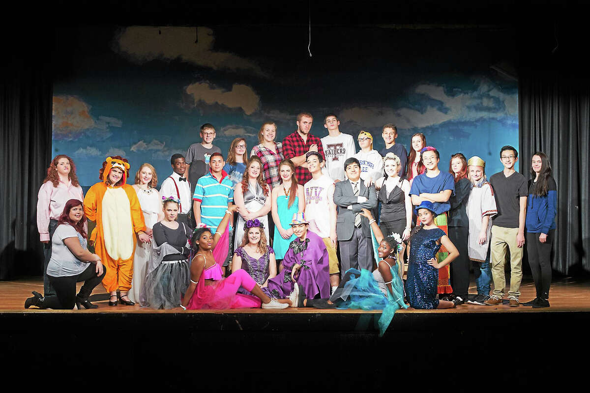 Photos by LifetouchThe cast of Midsummer/Jersey pauses during rehearsals at Torrington High School. The show opens Dec. 3.