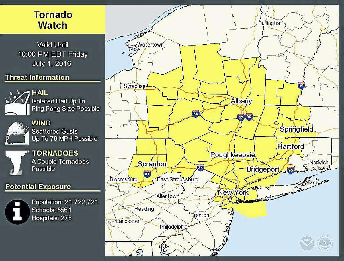 Courtesy of the National Weather Service in New York