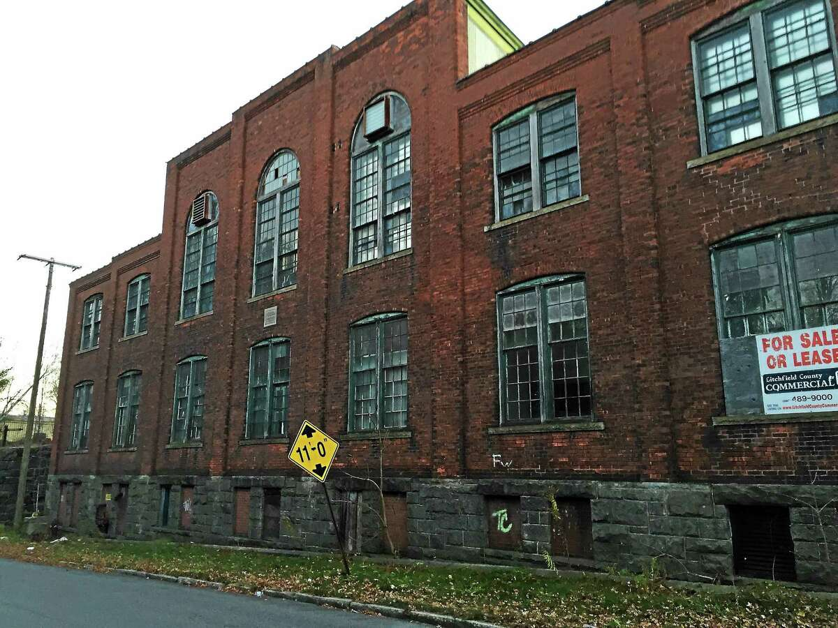 PHOTO BY BEN LAMBERT ¬ ¬ One of the buildings at the former Hendey Machine Company site, included as part of a grant application for state funds to develop a strategy for city brownfields.
