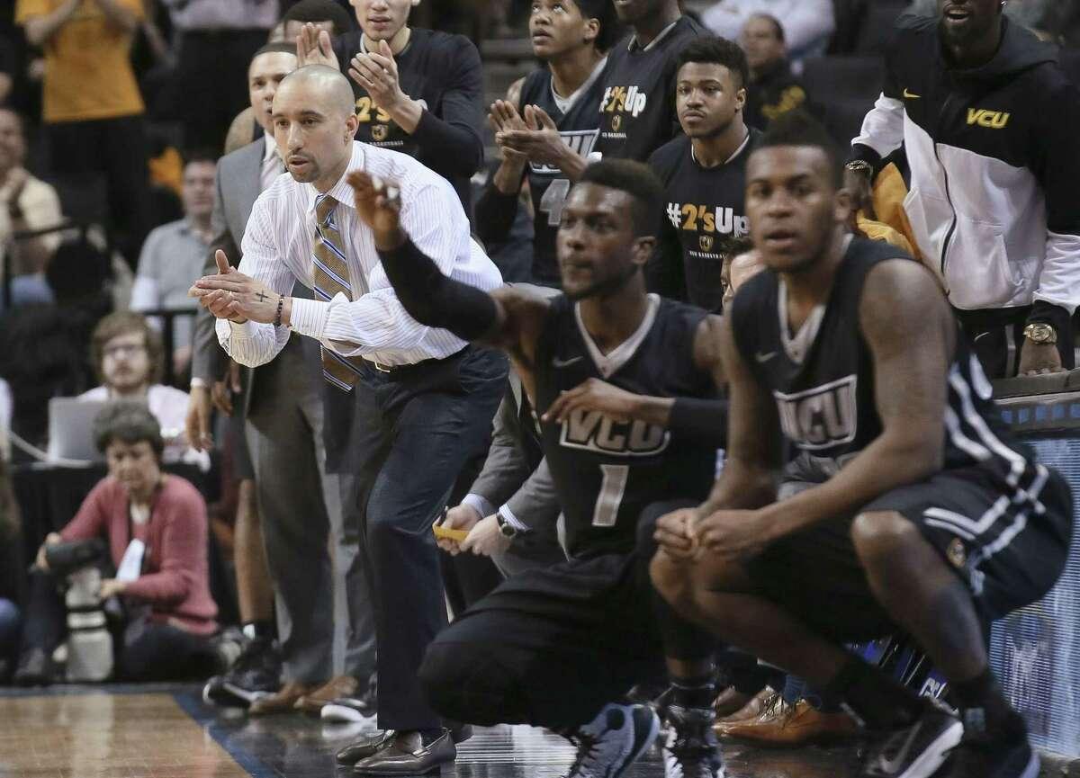 Shaka Smart is the new men's basketball coach at Texas.
