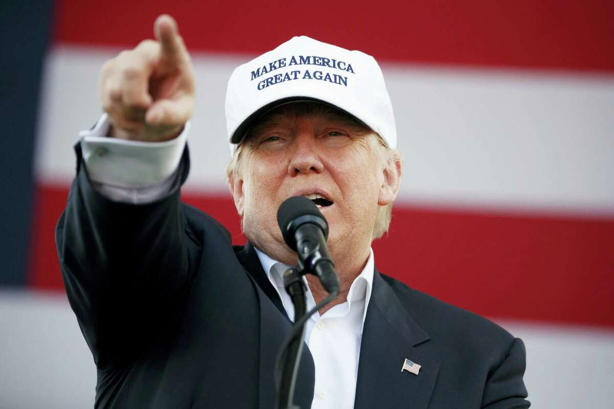 Republican presidential candidate Donald Trump speaks during a campaign rally, Nov. 2 in Miami.