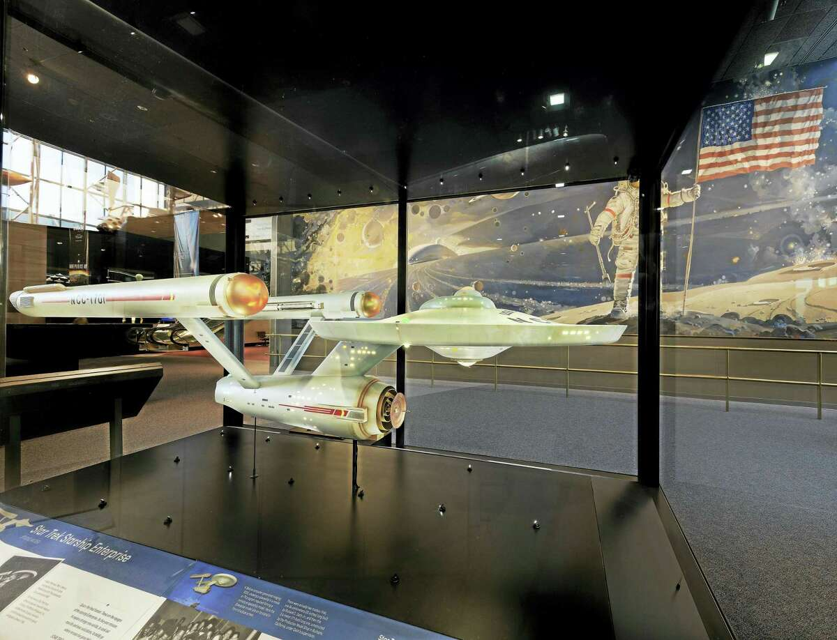 The U.S.S. Enterprise model at the Smithsonian.