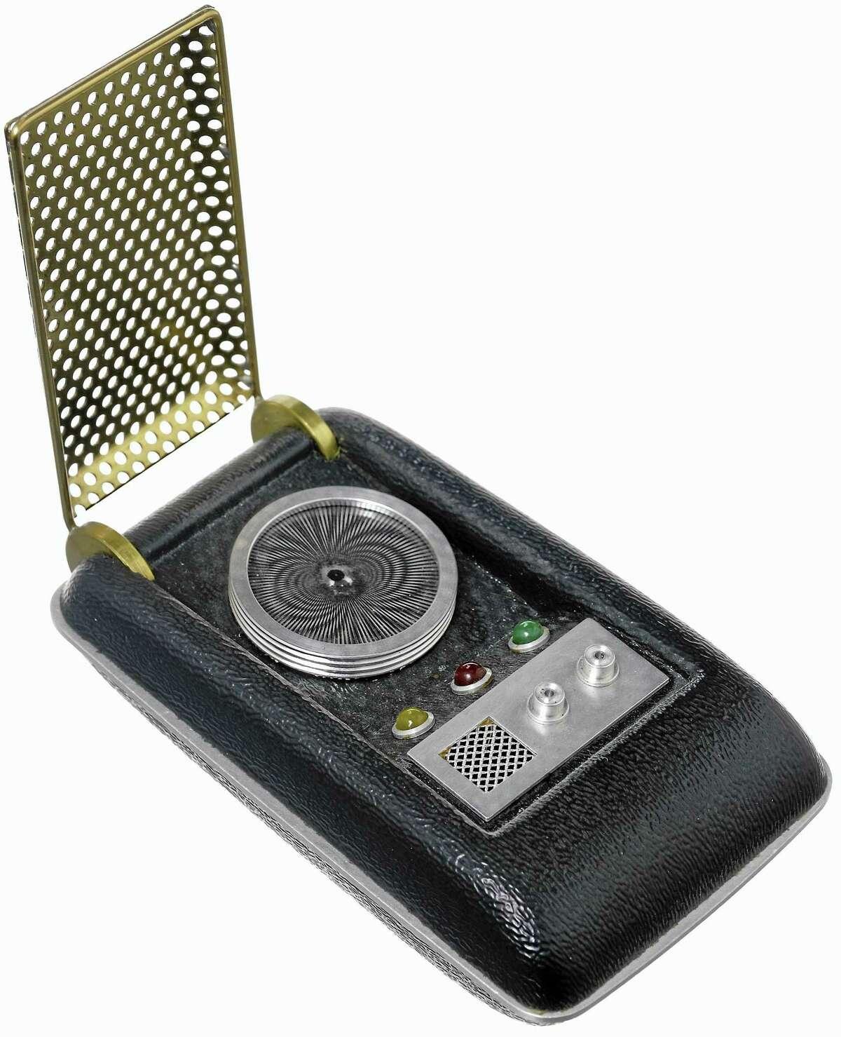 "The communicator from ""Star Trek"" in the 1960s."