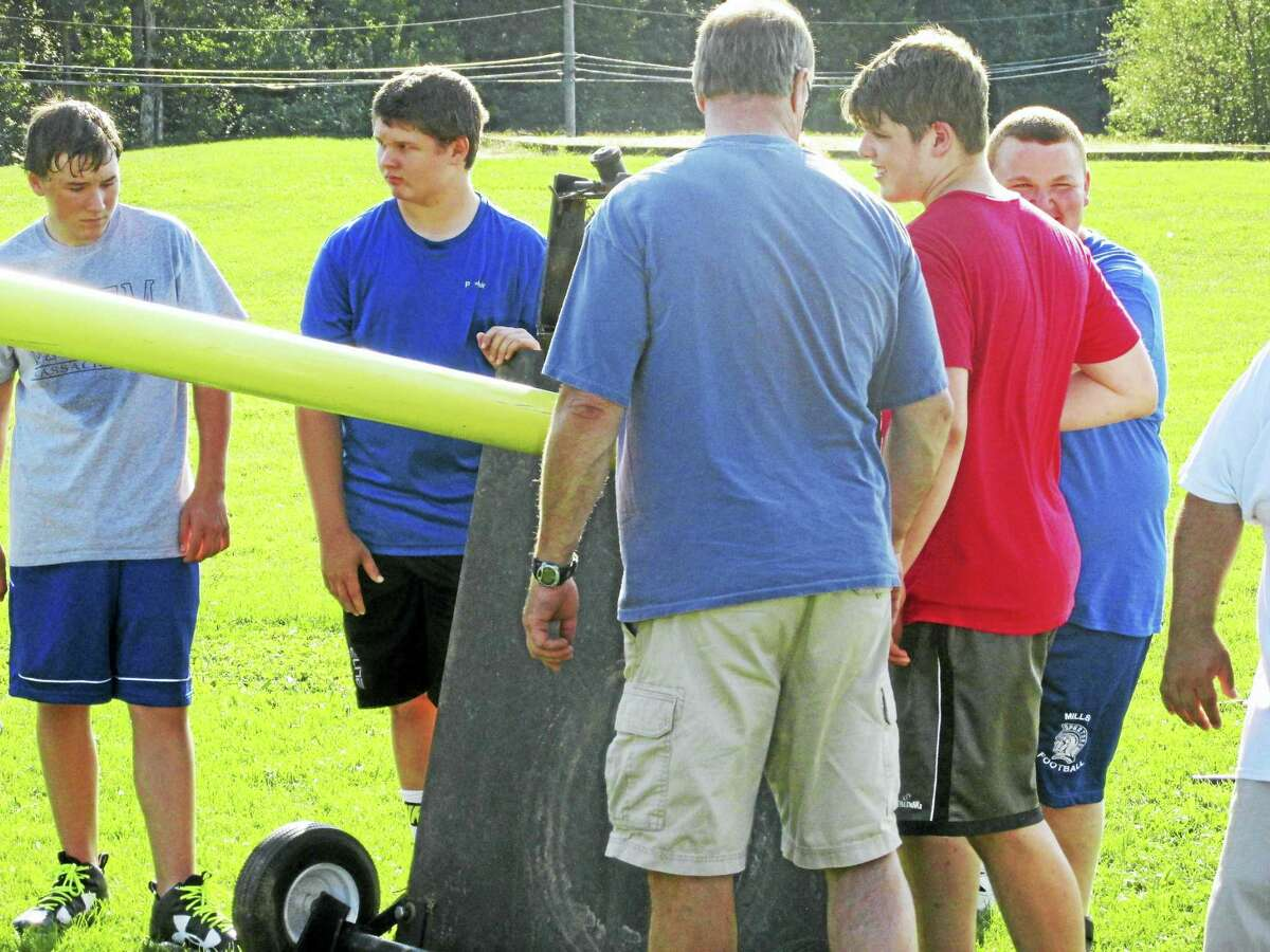 Lewis Mils football players expect to spend plenty of time around opposing goal posts this season.