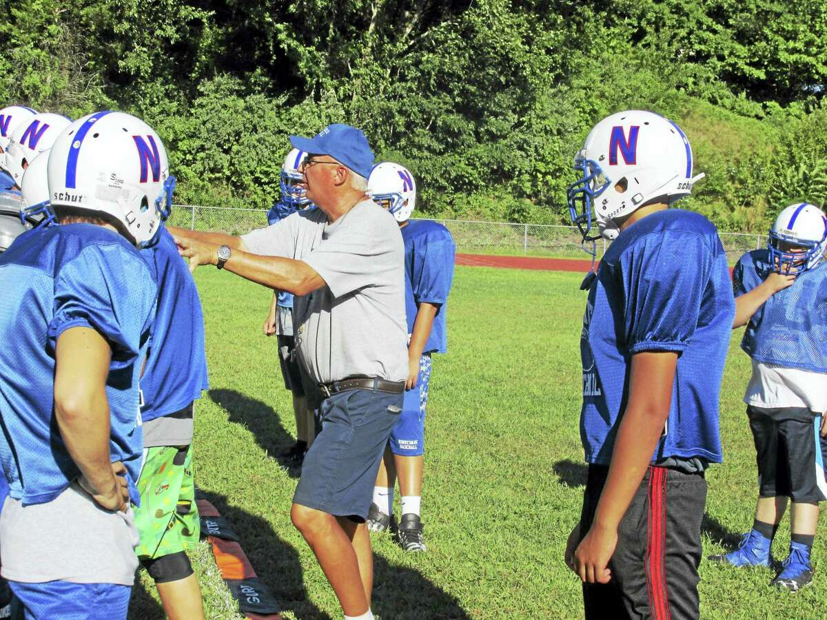 Nonnewaug football coach John Oko covers the basics with a front line that's almost brand new. Only one starter returns.