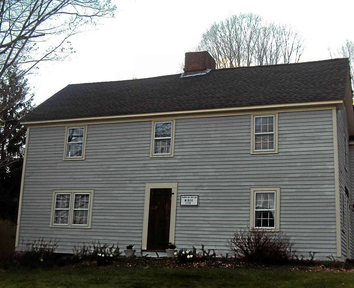 """The exterior of the restored 1770 Colonial house inhabited by author Velya Jancz-Urban and her family. The house, which was reportedly haunted at one time by a Colonial-era ghost named Susan, was part of the inspiration for Jancz-Urban's ghost novel """"Acquiescence."""""""