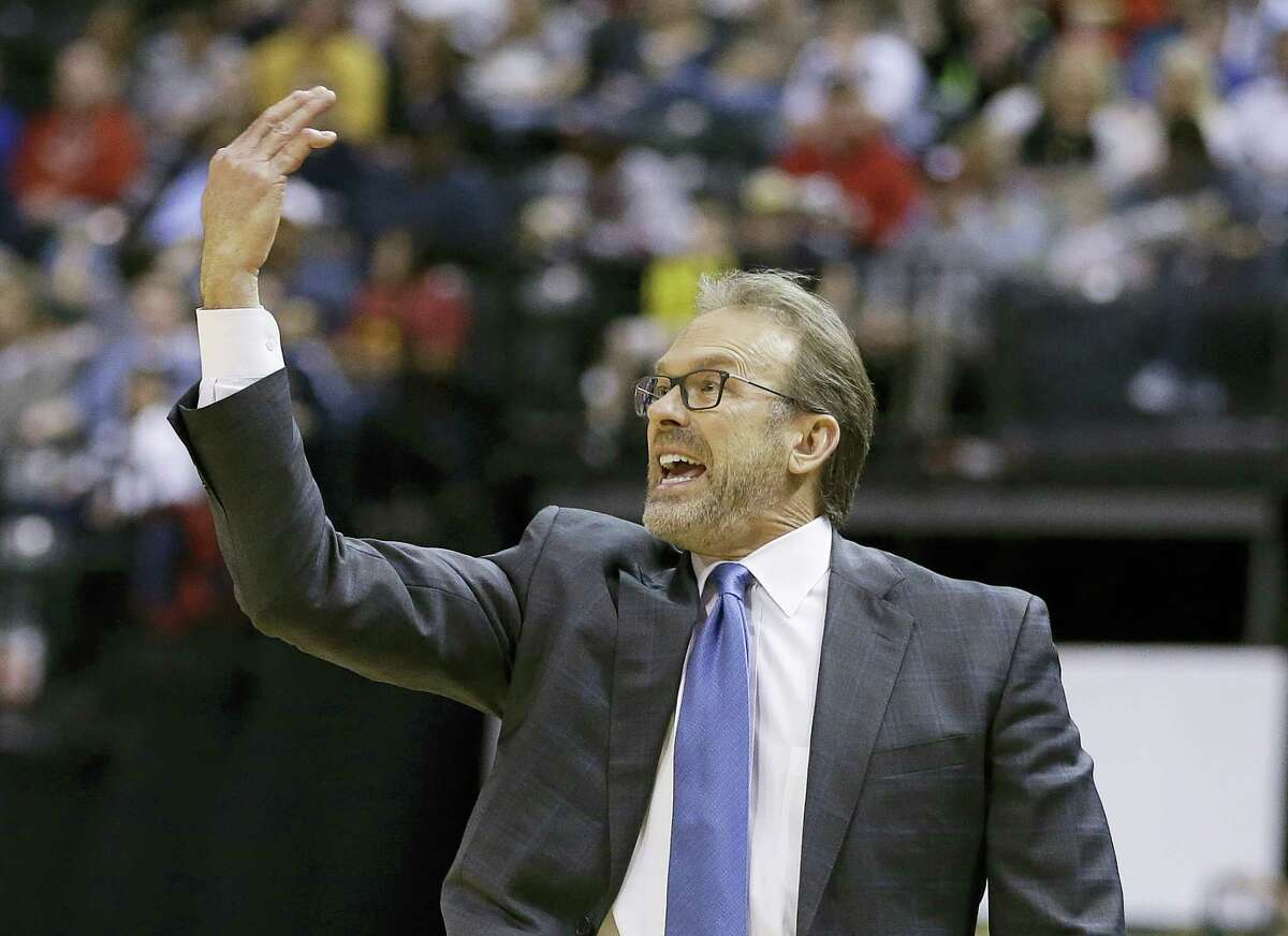 Knicks coach Kurt Rambis.