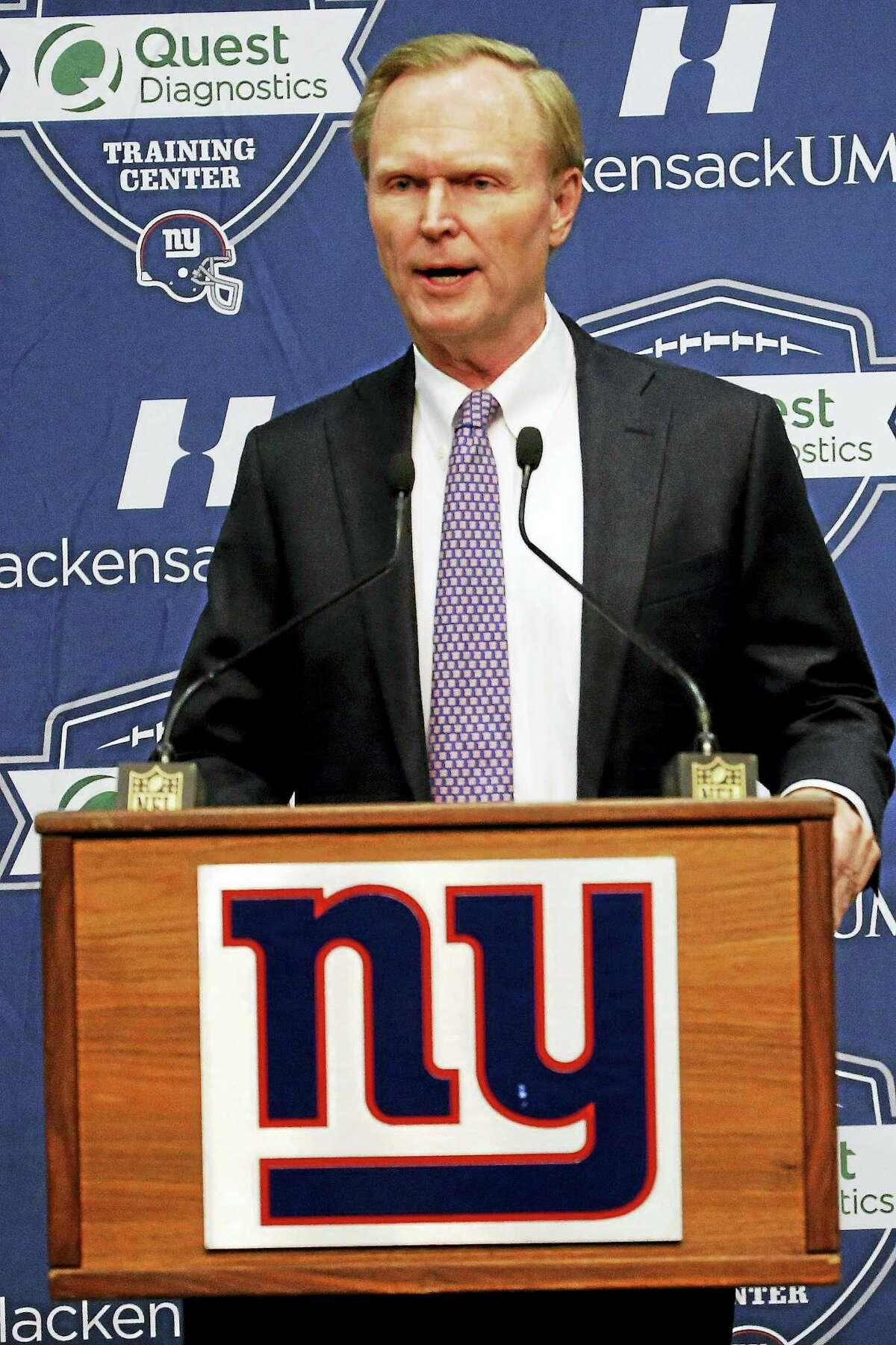 Giants owner John Mara.