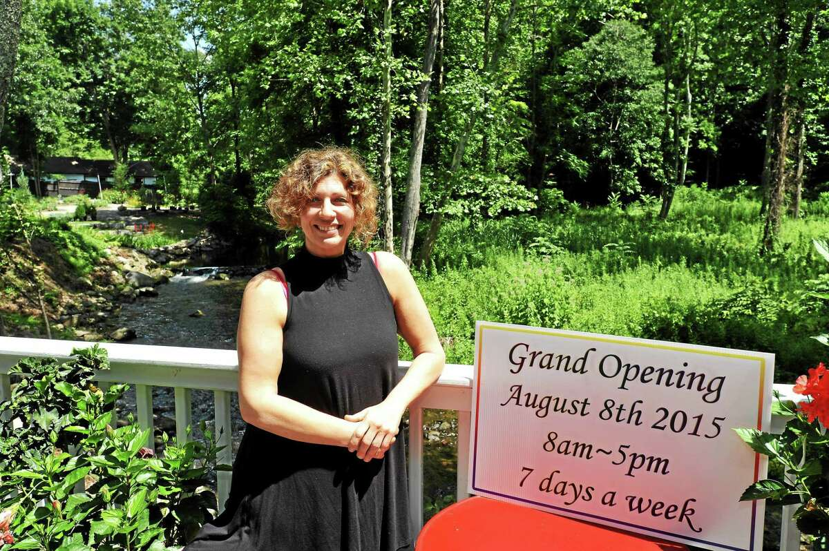 Aldina Zullo will officially open The Little Organic Vegeterian Epicuria at the Green Spot on Aug. 8.
